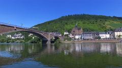 Cochem, Germany 4K Stock Footage