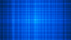 Broadcast Intersecting Hi-Tech Lines, Blue, Abstract, Loopable, 4K Stock Footage