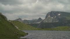 Serene High Mountain Lake 4K Stock Footage