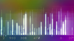 Rainbow Audio Equalizer Graphics, 4k Stock Footage