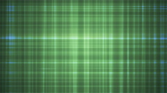 Broadcast Intersecting Hi-Tech Lines, Green, Abstract, Loopable, 4K Stock Footage