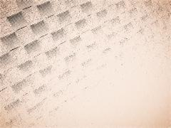 Diagonal sepia paper illustration background Stock Illustration
