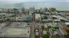 Miami Beach architecture Stock Footage