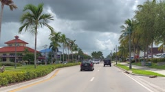 North Collier Boulevard Marco Island Stock Footage