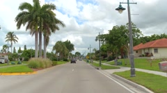 Kendall Drive Marco Island video footage Stock Footage