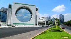 Mexico City, Landmark Buildings Stock Footage