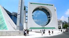 Mexico City, Landmark Buildings - stock footage