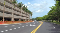Driving around Sawgrass Mall Stock Footage