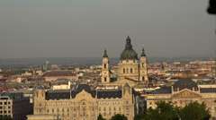 The church, temple in Budapest. Stock Footage