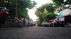 Calle Principal Livingston Stock Footage