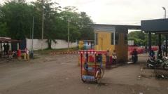 Frontera Hachadura Stock Footage
