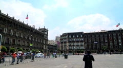 Mexico City, City Goverment Building. Stock Footage