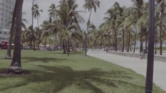 Miami Beach raw unedited video Stock Footage