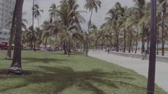 Miami Beach raw unedited video Stock Footage