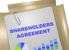 Shareholders Agreement concept - stock illustration