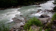 Val Genova river Stock Footage