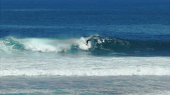 Surfers point margaret river Stock Footage