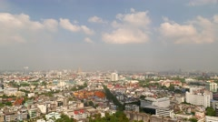 TIMELAPSE Skyline with clouds,Bangkok,Thailand Stock Footage