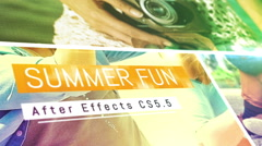 Summer Fun Stock After Effects