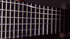 Guitar String #13 Stock Footage