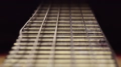 Guitar String #11 Stock Footage