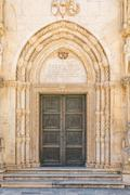 Sibenik Cathedral Lion Gate Stock Photos