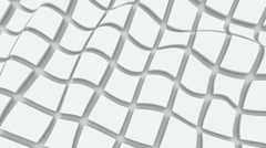 Cubes Wavy Background. Seamless loop Stock Footage