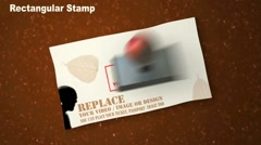 Rubber stamp Stock After Effects