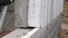 Concrete element Stock Footage