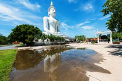 Wat Phai Rong Wua , Suphanburi Stock Photos