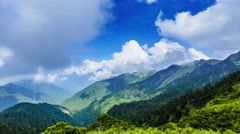 Scenic of Mountain on heaven above the ground. Good background for you to put Stock Footage