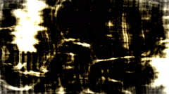 Golden Shiny Grey Film Leader With Scratches, Flicker, Running Stock Footage