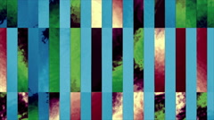 Geometrical Colored Lines Abstract Background Stock Footage