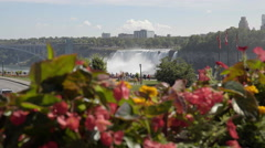Niagara Falls shot in glorious 4K UHD. Stock Footage