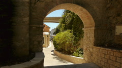 Street at Monaco, Cote D'Azur France Stock Footage