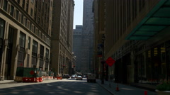New york summer day manhattan street walking panorama 4k usa Stock Footage