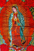 Colorful Ceramic Guadalupe Dolores Hidalgo Mexico Stock Photos