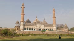 Aasifi Masjid historical mosque,Lucknow,India Stock Footage