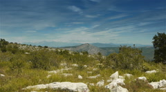 Col de Vence in South France Stock Footage
