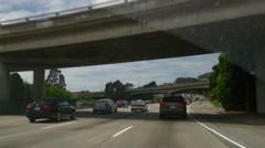 Summer day san francisco road trip highway panorama 4k usa Stock Footage