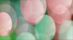 Anamorphic Bokeh #4 - Colorful Stock Footage