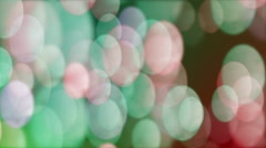 Anamorphic Bokeh #5 - Colorful Stock Footage