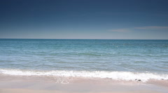 Coastline at Cote D'Azur, France Stock Footage