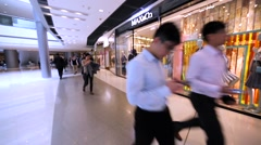 Max&Co store in Hong Kong mall. Stock Footage