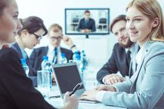 Weekly meeting of the company's management board Kuvituskuvat