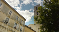 Historic buildings of Grasse, Cote D'Azur France Stock Footage
