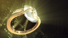 Diamond Ring Background 4K (Loop C) Stock Footage