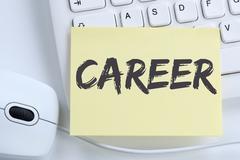 Career opportunities goals success and development business concept office Stock Photos