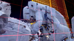 Space Station Live Stock Footage