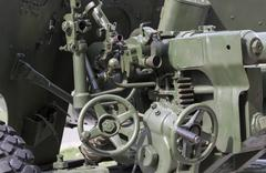 Old military equipment Stock Photos